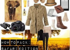 How to Pack: Safari Edition