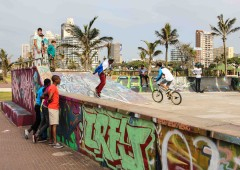 Skaters Gonna Skate: Scenes from Durban Beach