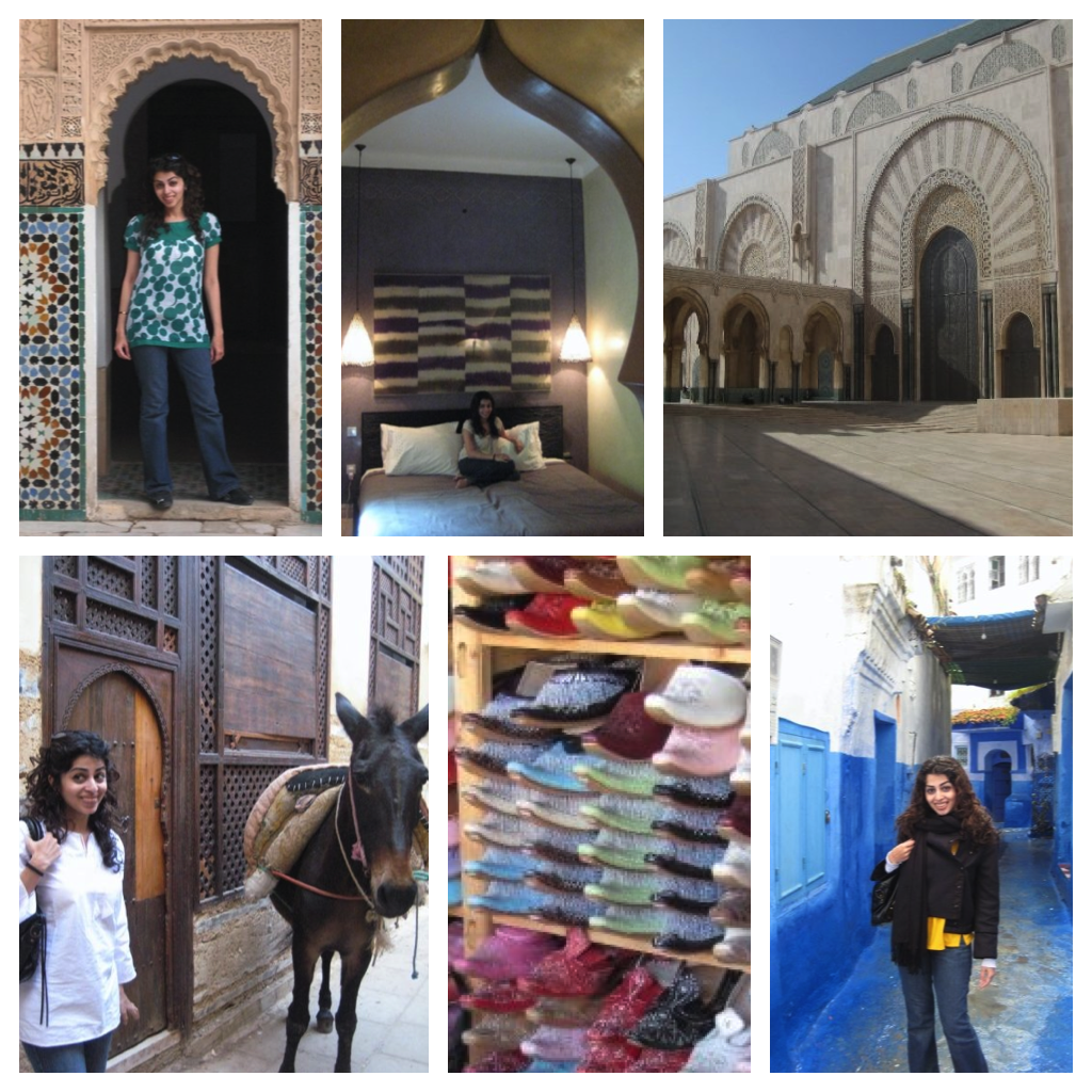 morocco collage
