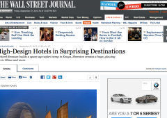 As Seen In… The Wall Street Journal