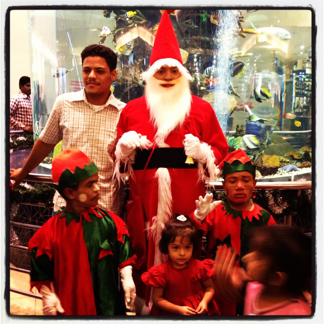 Santa claus is coming to town… not
