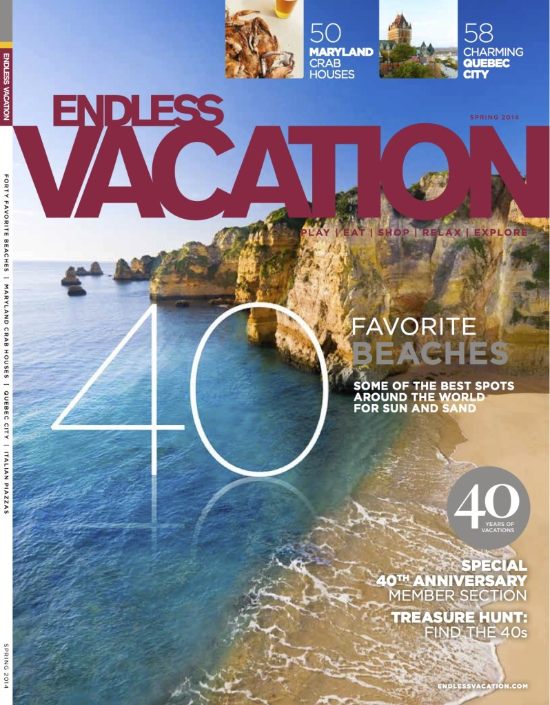 Endless Vacation Spring 2014 Cover