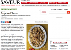 As Seen In… Saveur