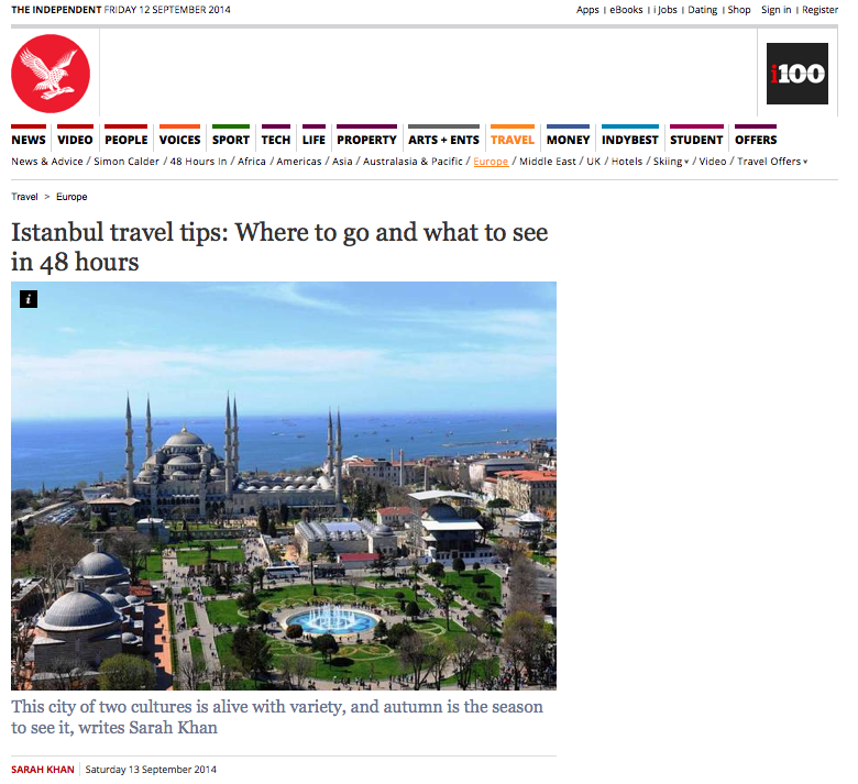 The Independent Istanbul