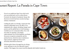 New York Times: La Parada in Cape Town
