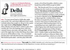 New York Magazine: Delhi Nightlife
