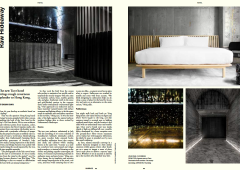 Surface Magazine: Tuve Hotel, Hong Kong