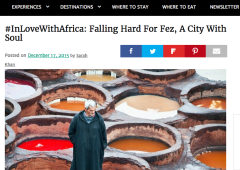 #InLoveWithAfrica: Falling Hard for Fez, A City With Soul