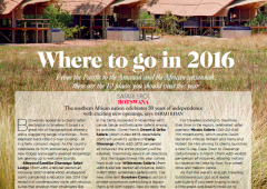 Conde Nast Traveller Middle East: Where to Go in 2016 – Botswana