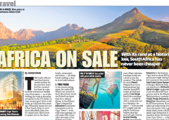 New York Post: Africa on Sale