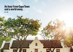 Conde Nast Traveler: Get Out of (Cape) Town