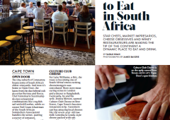 Food & Wine: Where to Eat in South Africa