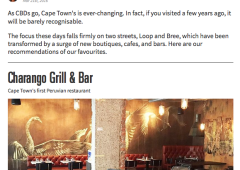 Cape Town's Best Brunches and CBD Hot Spots